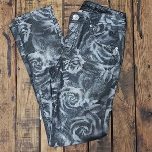 Justice iridescent jeans